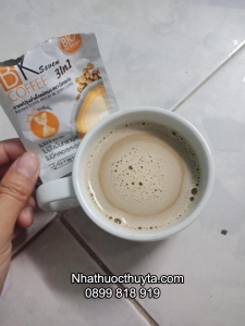 cách sử dụng cafe giảm cân bk seven 3in1